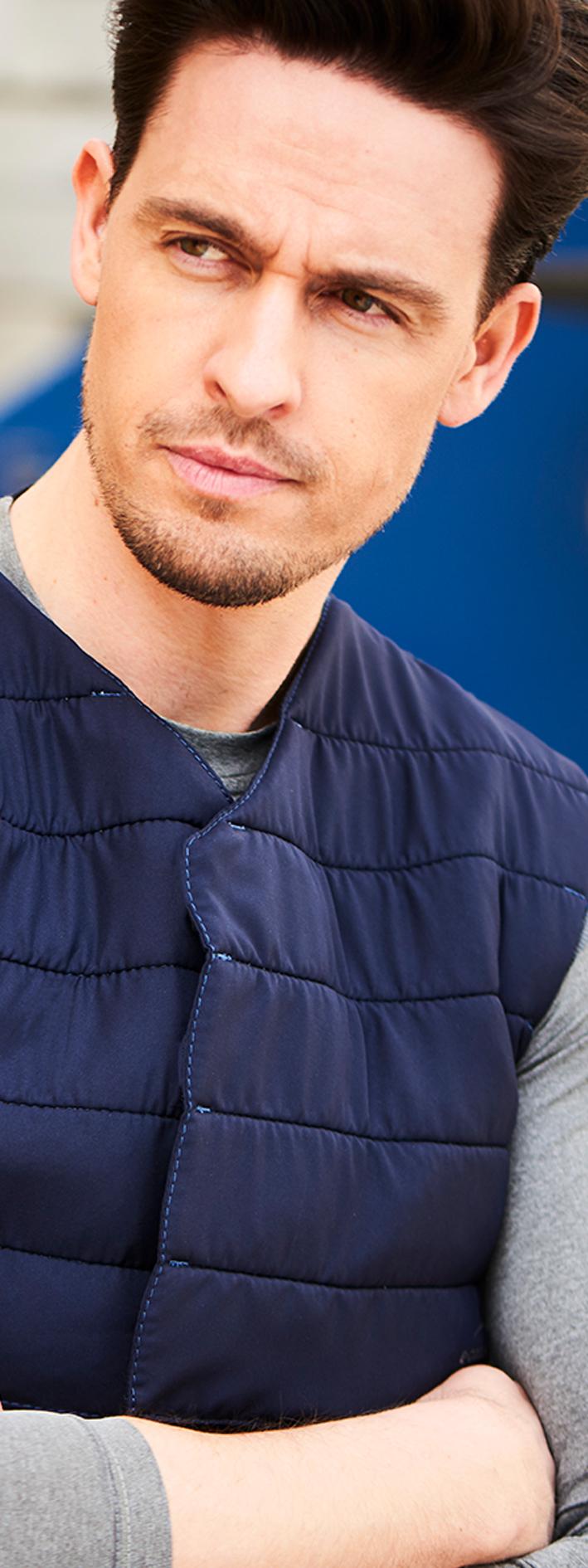 ecooline Powercool-SX3-vest blue